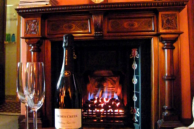 Open fires in luxurious bed and breakfast accommodation